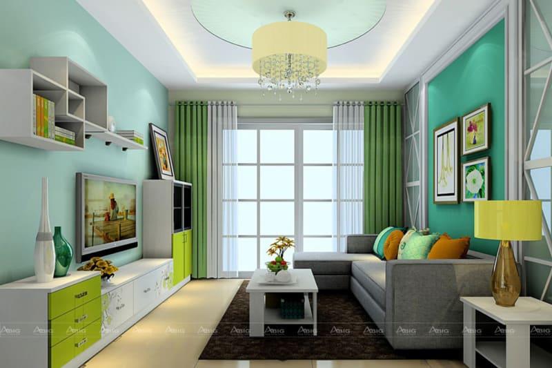 Mẫu thiết kế chung cư hiện đại.