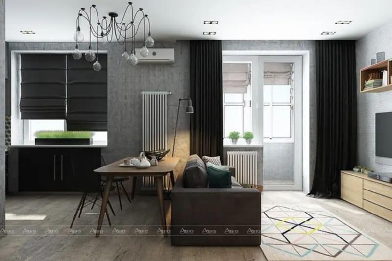 Không nhất thiết diện tích lớn mới có căn hộ đẹp. Nhỏ gọn mà lại sang trọng sẽ khiến người xem không thể rời mắt.