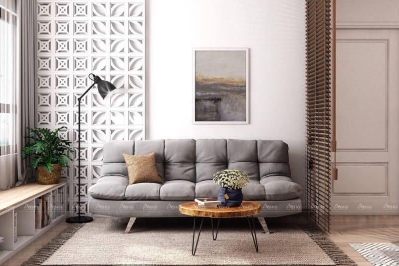 Không gian tối giản cho phòng khách