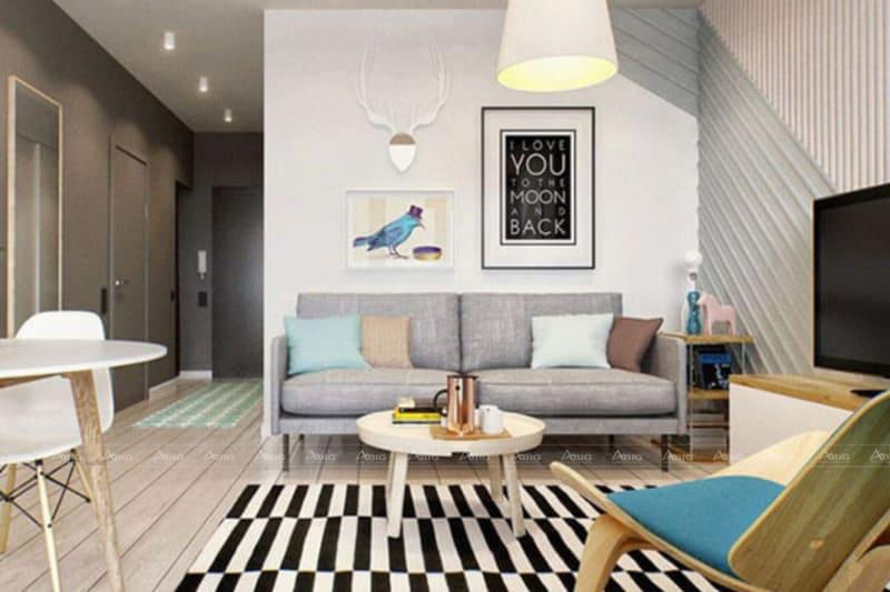 Dịch vụ thiết kế nội thất chung cư diện tích nhỏ chất lượng.
