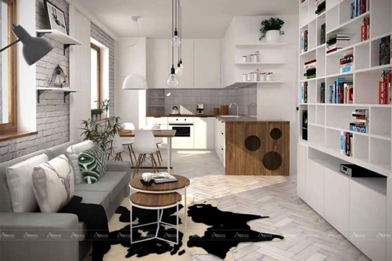 Phong cách thiết kế nội thất với gam màu trung tính