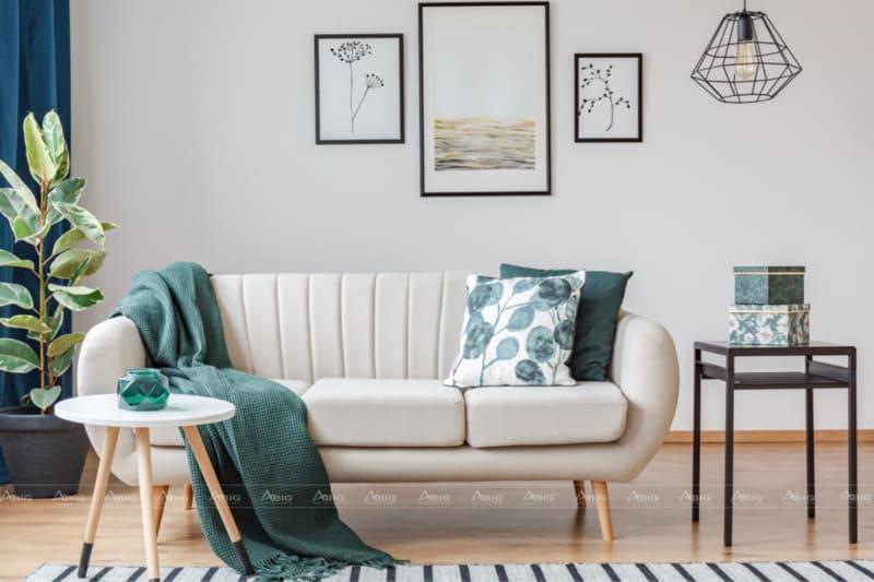Phong cách phối màu cho phòng khách chung cư