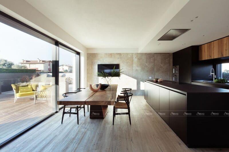 màu sắc nội thất lựa chọn trong thiết kế căn bếp phải hợp mệnh gia chủ