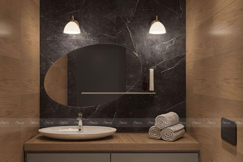 mẫu phòng tắm đơn dành cho tín đồ phong cách hiện đại