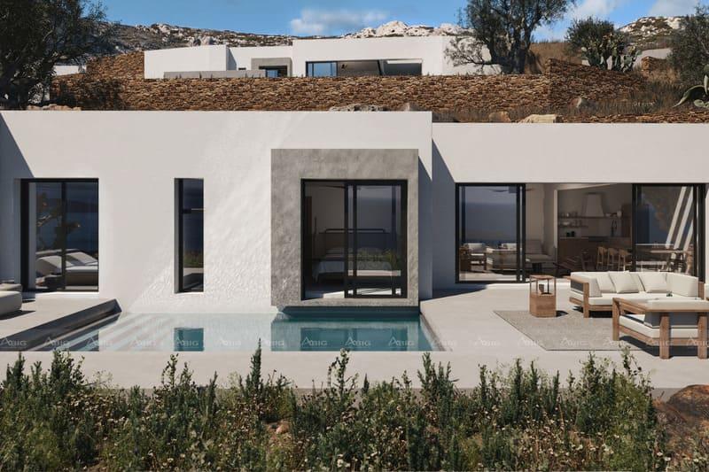 biệt thự nghỉ dưỡng không gian mở với hồ bơi chính giữa