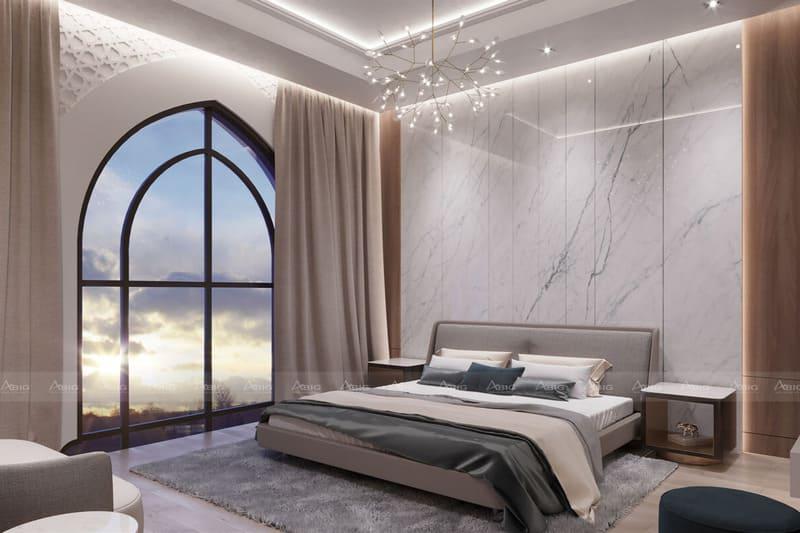 cửa sổ với thiết kế đột phá thể hiện sự phóng khoáng thoái mái