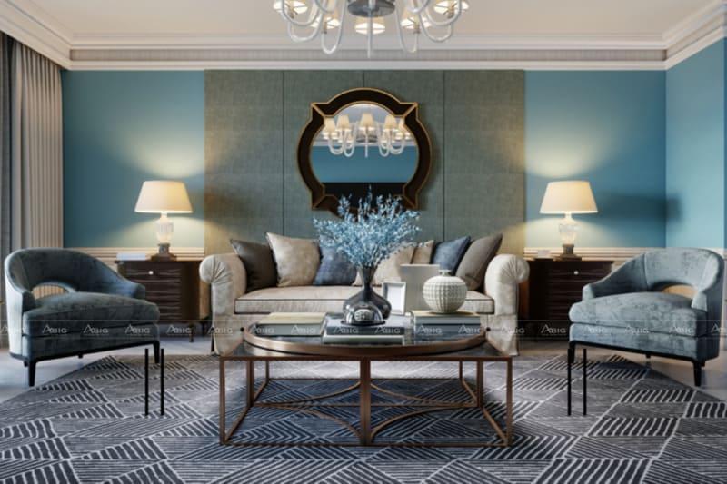 thiết kế nội thất căn hộ chung cư phong cách cổ điển