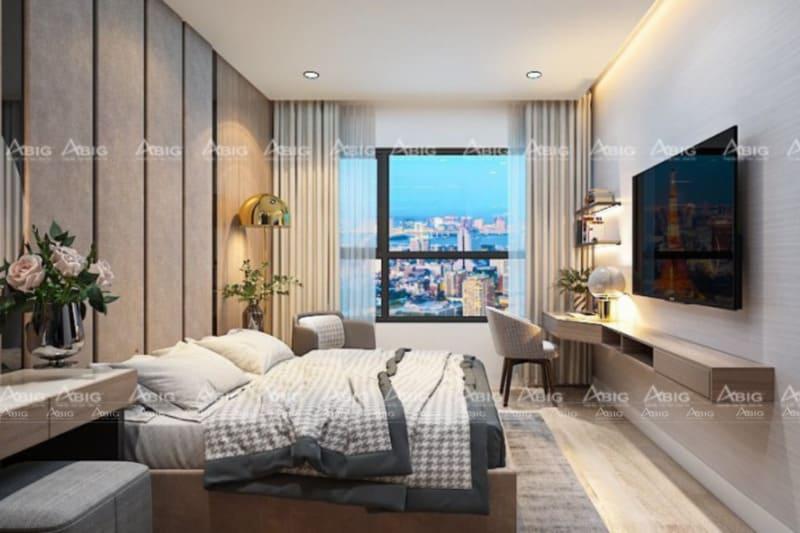 abig là đơn vị thiết kế và thi công nội thất phòng ngủ chung cư uy tín tại tphcm