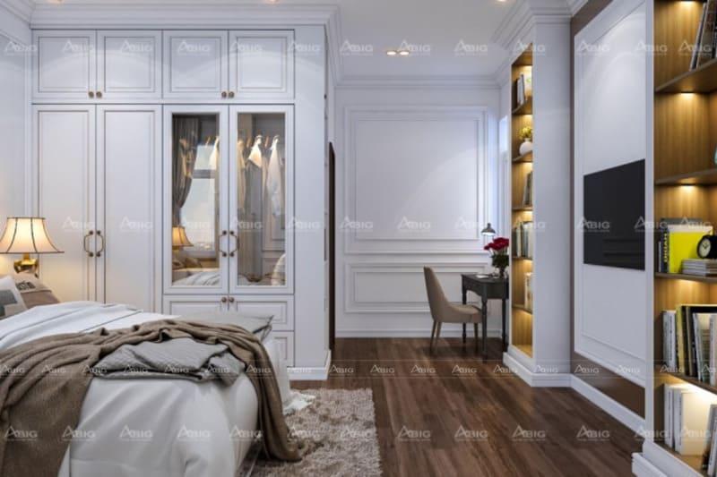 mẫu thiết kế phòng ngủ cho bé trai ở chung cư trẻ trung năng động