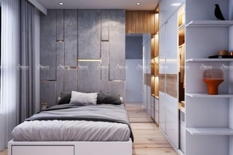 mẫu thiết kế phòng ngủ master chung cư phong cách tân cổ điển độc đáo