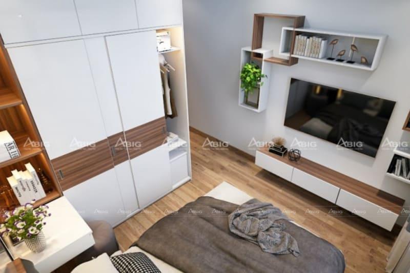 mẫu thiết kế phòng ngủ master cho vợ chồng ở chung cư đẹp