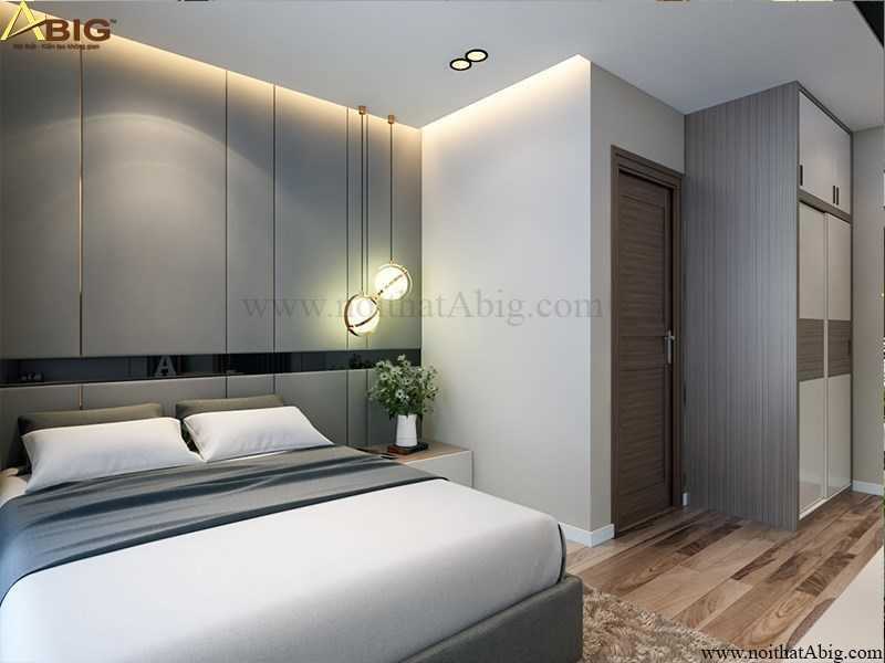 Phòng ngủ hiện đại đầy đủ tiện nghi