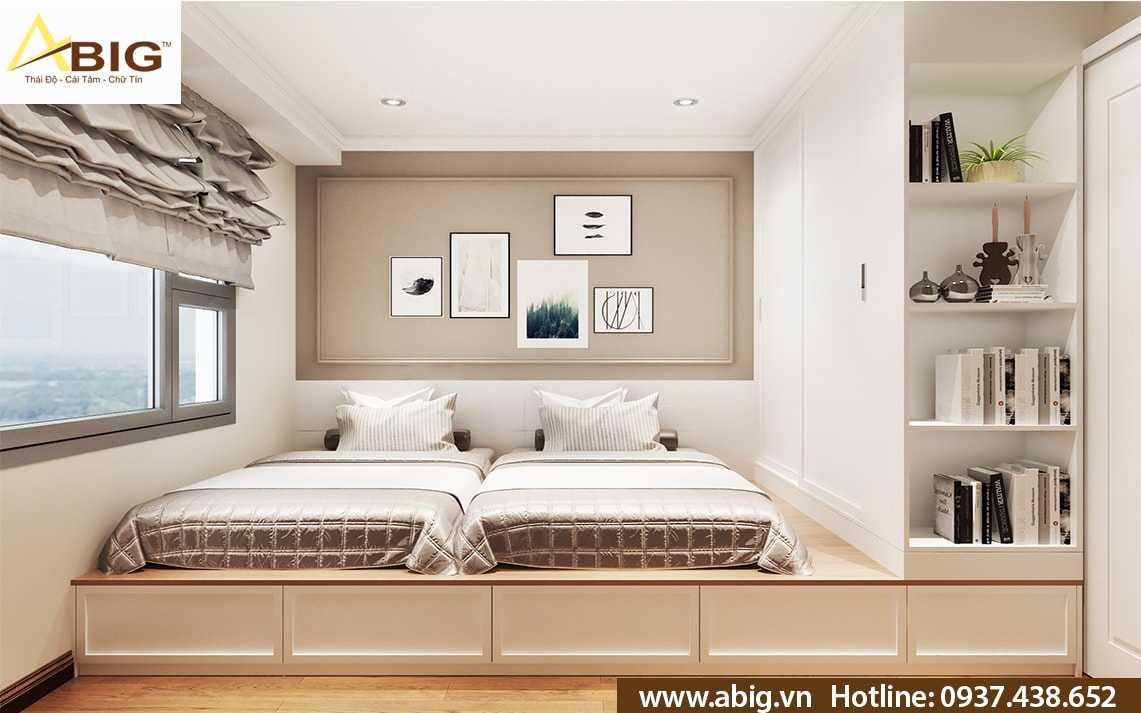 thiết kế nội thất căn hộ 2 phòng ngủ - 1