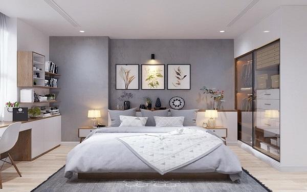 Thiết kế diện tích phòng ngủ 20m2